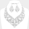 Crystal Statement Necklace and Earring Set | 354309