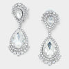 Crystal Teardrop Earrings | 294170