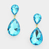 Aqua Teardrop Earrings | 237739