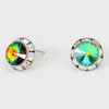 Volcano Stud Earrings 0.5"