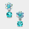 Little Girls Teal Dangle Earrings | 294655
