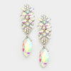 AB Marquise Crystal Earrings | 341066