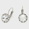 Small Clear Austrian Crystal Stud Earrings | 0.5""