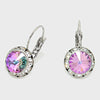 Small Multi-Color Austrian Crystal Stud Earrings | 0.5""