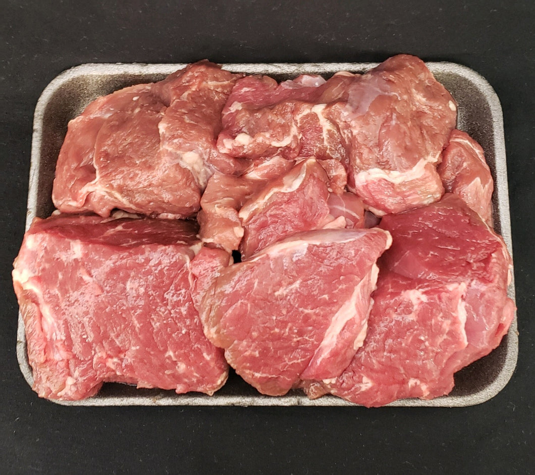 All Natural Grass Fed Lamb Chunks-2 lb Package
