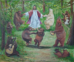 Jesus Dancin' with the Bears