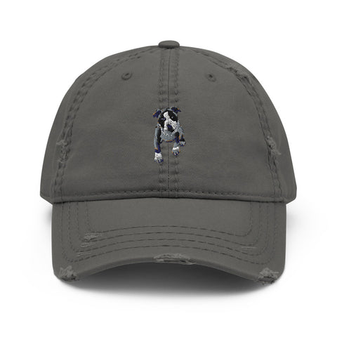 Rich Puppy Distressed Dad Hat