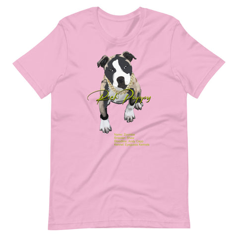 Rich Puppy Zoomba Short-Sleeve Unisex T-Shirt