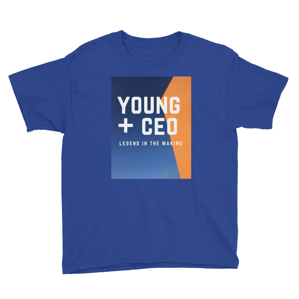 "Young Ceo ""YOUTH"" Short Sleeve T-Shirt"