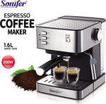 Sonifer Automatic Coffee Maker 1.6L