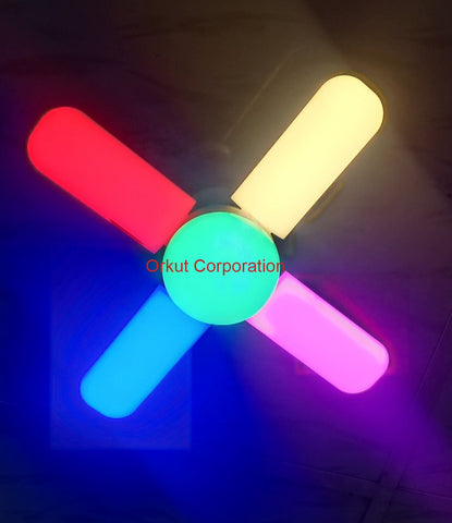 Multy color Fan Blade LED Light