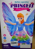Butterfly Operation Princess Acousto-Optic Toys Robot With Lights And Music