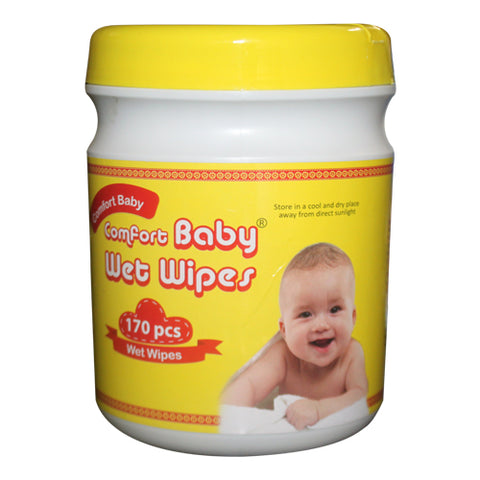 COMFORT WET WIPES  FOR BABY 170 PCS