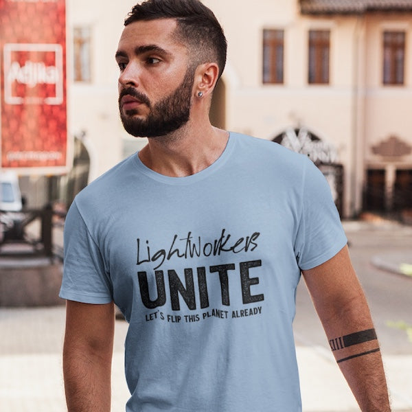 StarSeed Gear Lightworkers Unite T-Shirt