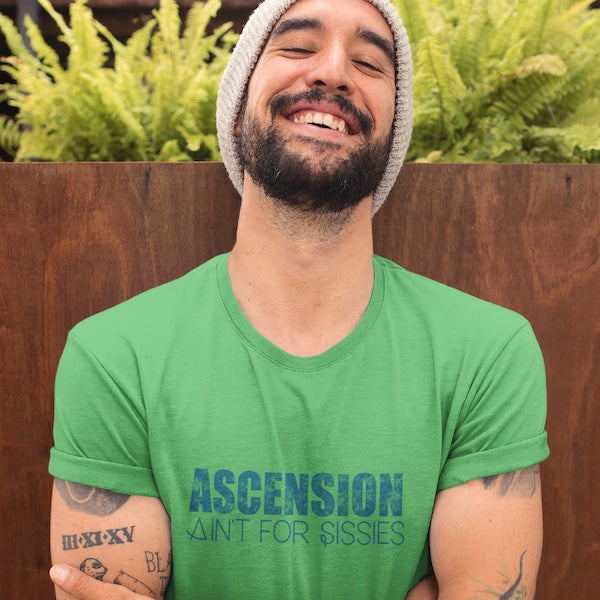 StarSeed Gear Ascension Ain't For Sissies T-Shirt