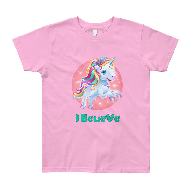 Unicorns I Believe - Youth Tee - StarSeed Gear