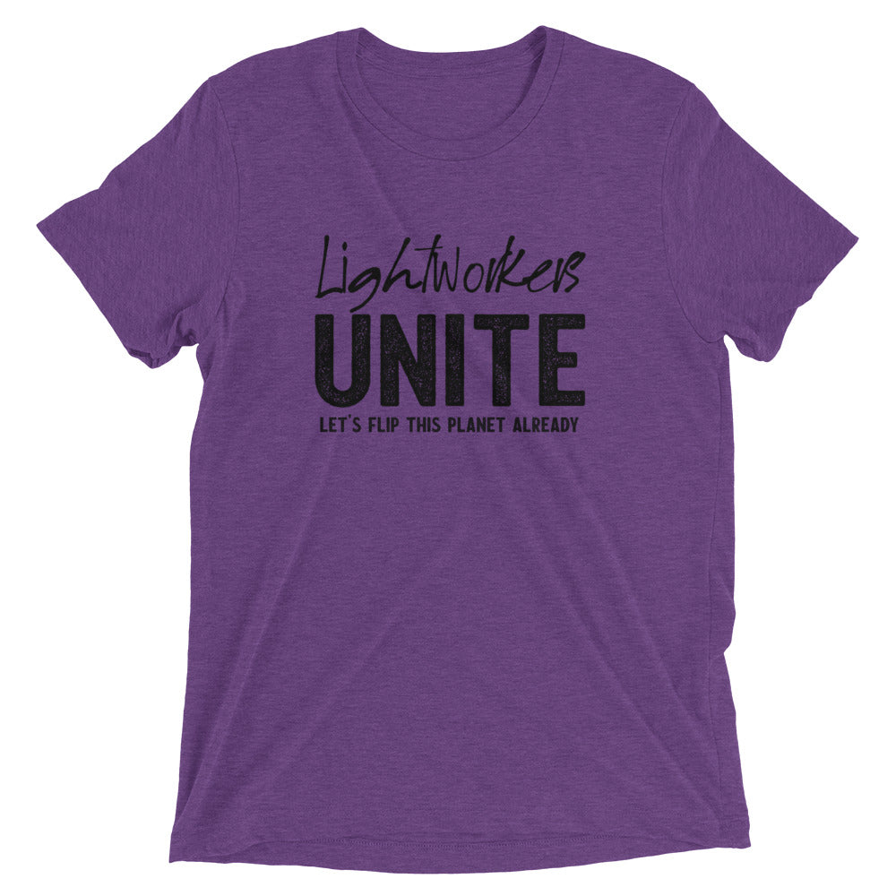 Lightworkers Unite - Men's Super Soft Tee - StarSeed Gear