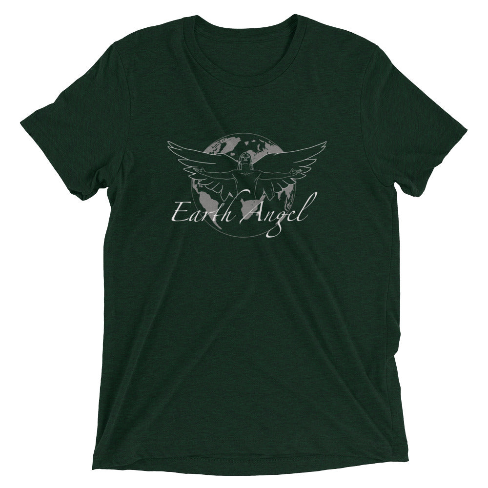 Earth Angel Masculine White - Men's Super Soft Tee - StarSeed Gear