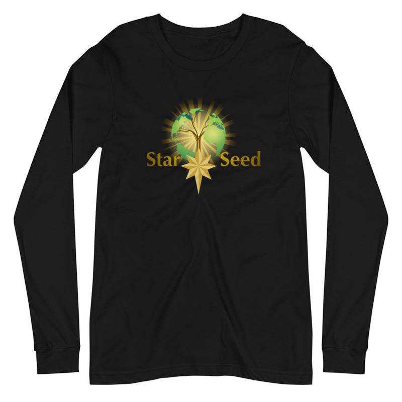 StarSeed Logo - Women's Soft Long Sleeve Tee - StarSeed Gear