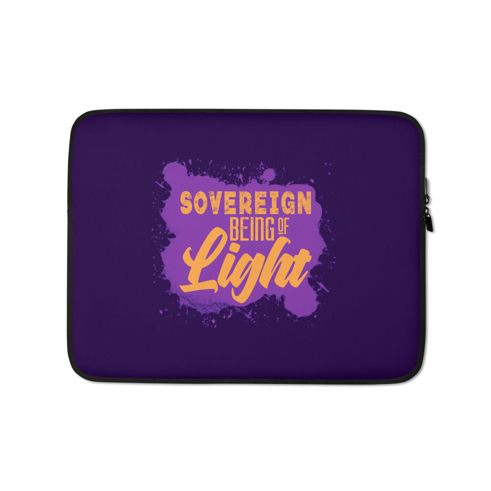 Sovereign Being of Light - Laptop Sleeve - StarSeed Gear