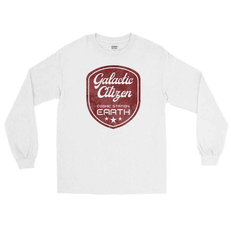 Galactic Citizen - Men's Classic Long Sleeve Tee - StarSeed Gear