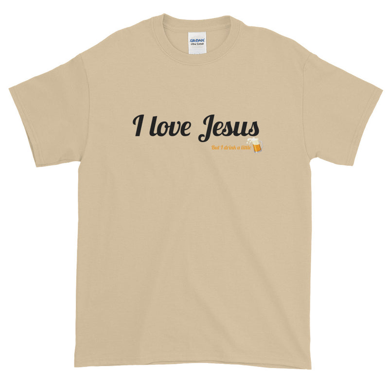 I Love Jesus - Men's Classic Tee - StarSeed Gear
