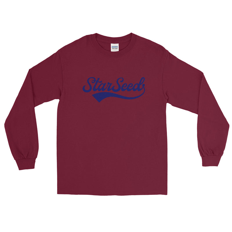 StarSeed Vintage Navy - Men's Classic Long Sleeve Tee - StarSeed Gear