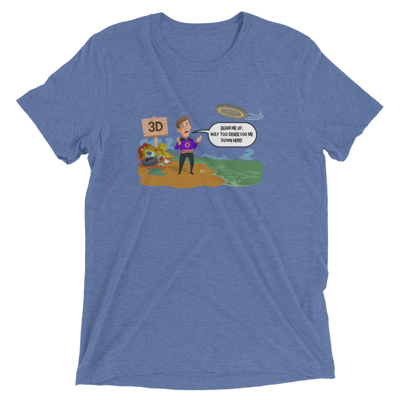Beam Me Up - Men's Super Soft Tee - StarSeed Gear