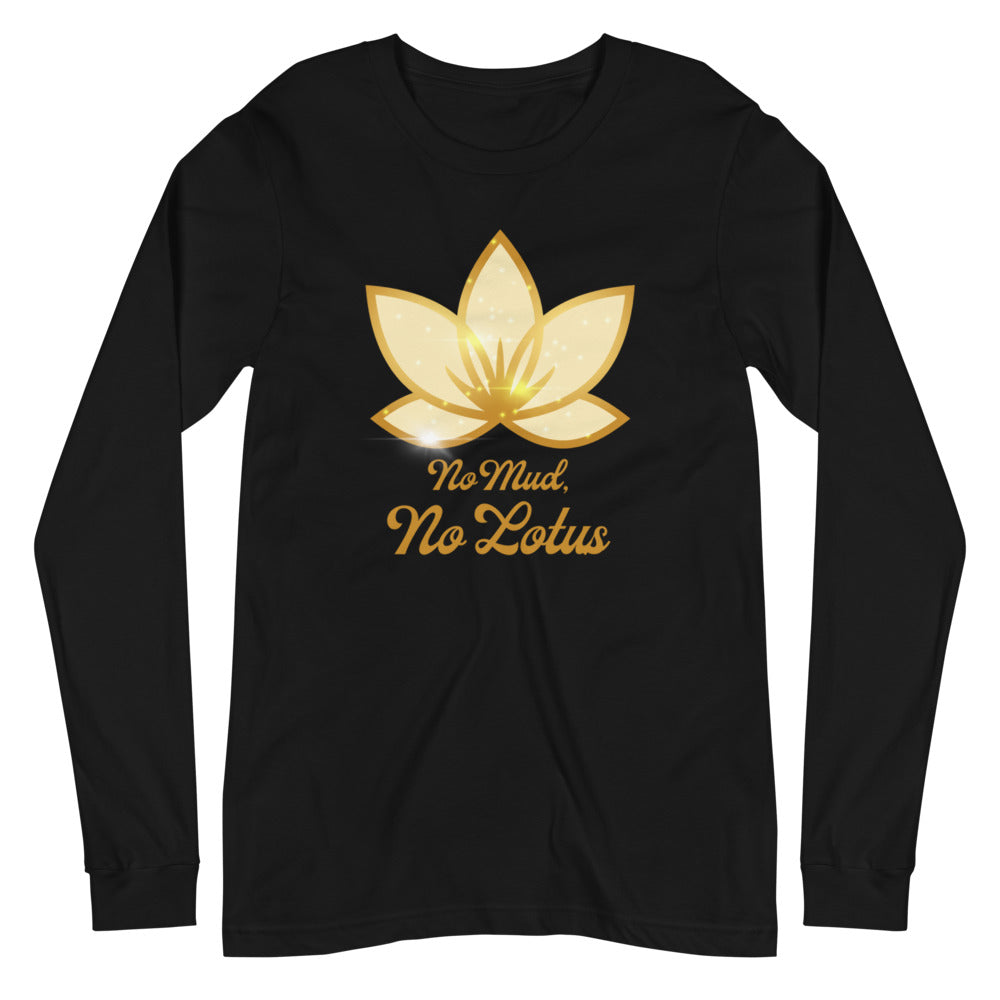 No Mud No Lotus - Women's Soft Long Sleeve Tee - StarSeed Gear
