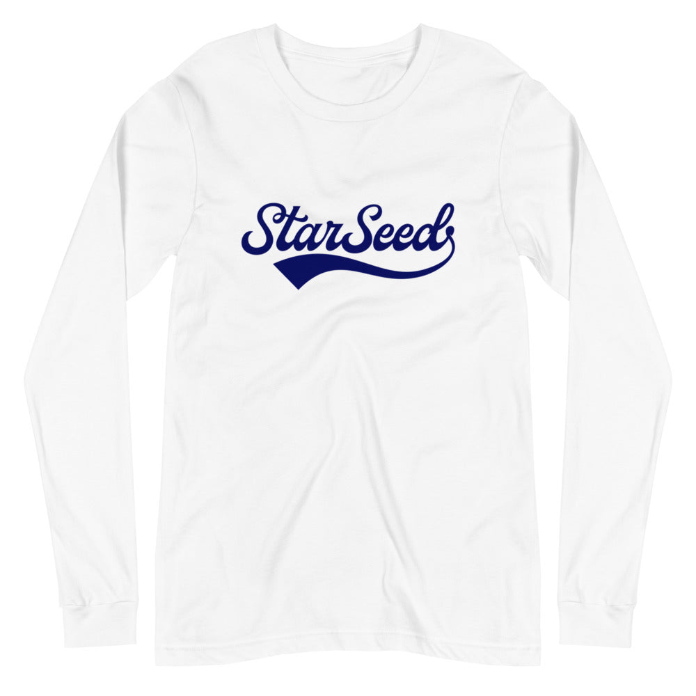 StarSeed Vintage Navy - Women's Soft Long Sleeve Tee - StarSeed Gear