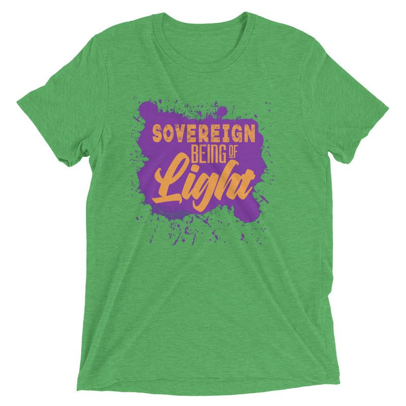 Sovereign Being of Light - Men's Super Soft Tee - StarSeed Gear
