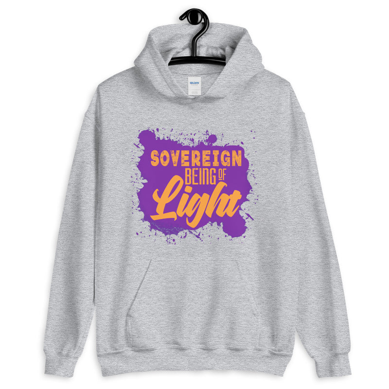 Sovereign Being of Light - Men's Hoodie - StarSeed Gear
