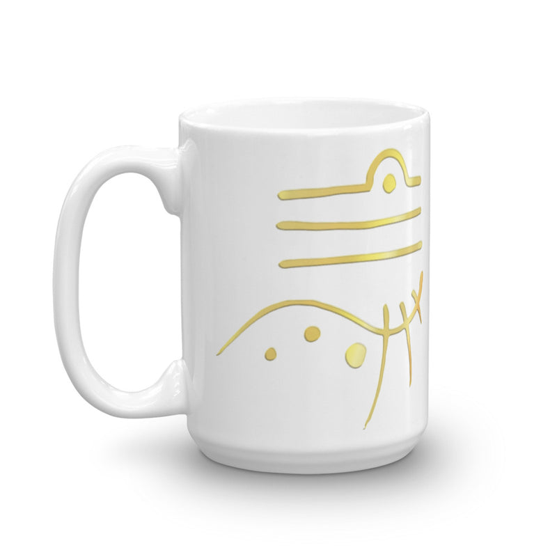 Lemurian Light Language Harmony - Mug - StarSeed Gear