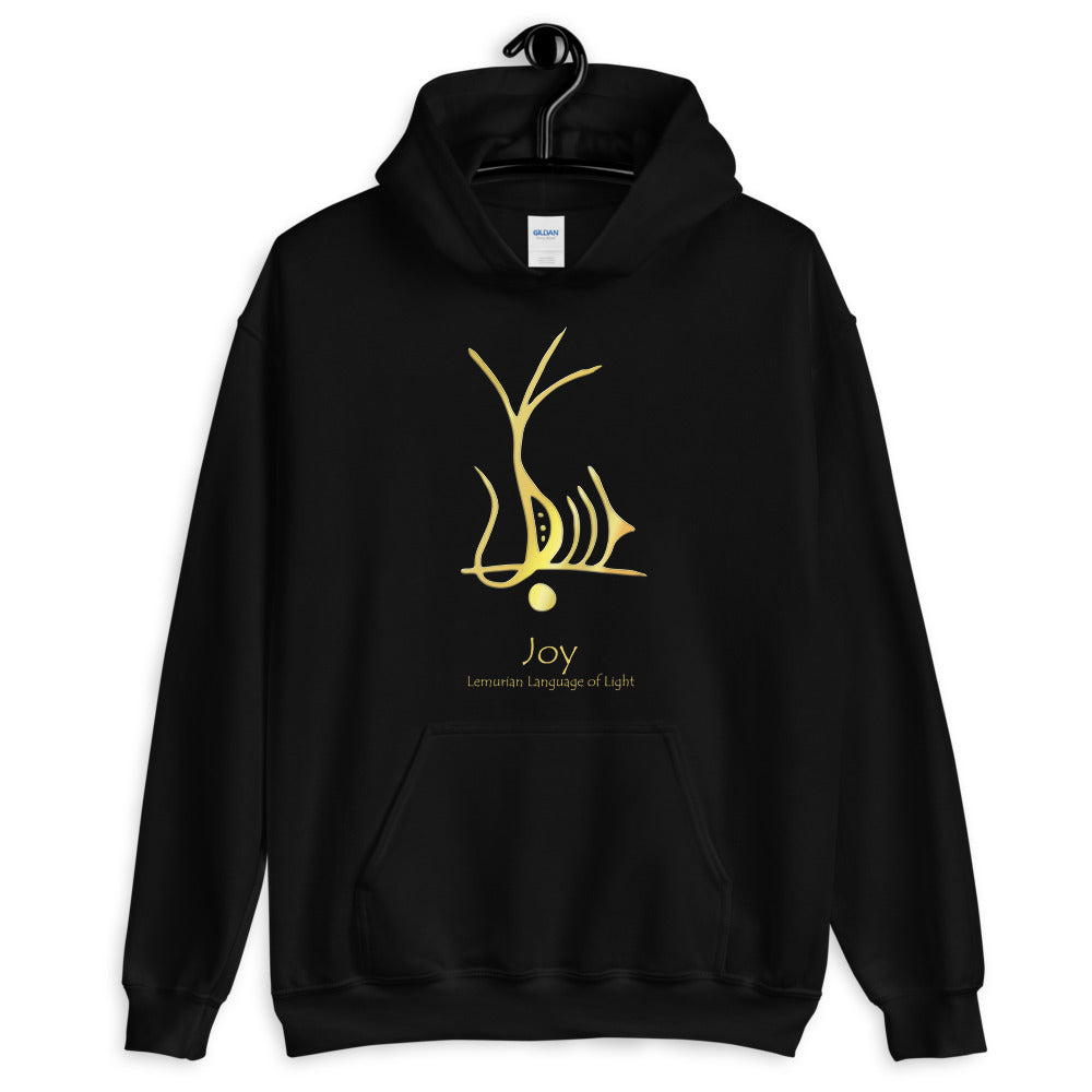 Lemurian Light Language Joy - Women's Hoodie - StarSeed Gear