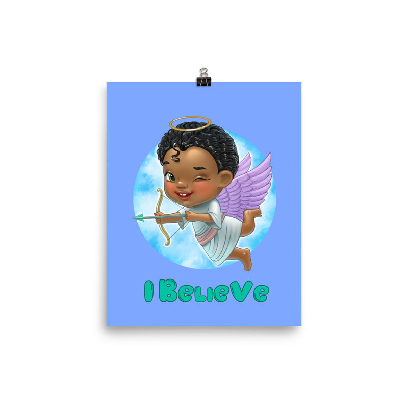 Angels I Believe - Enhanced Matte Poster 8x10 - StarSeed Gear