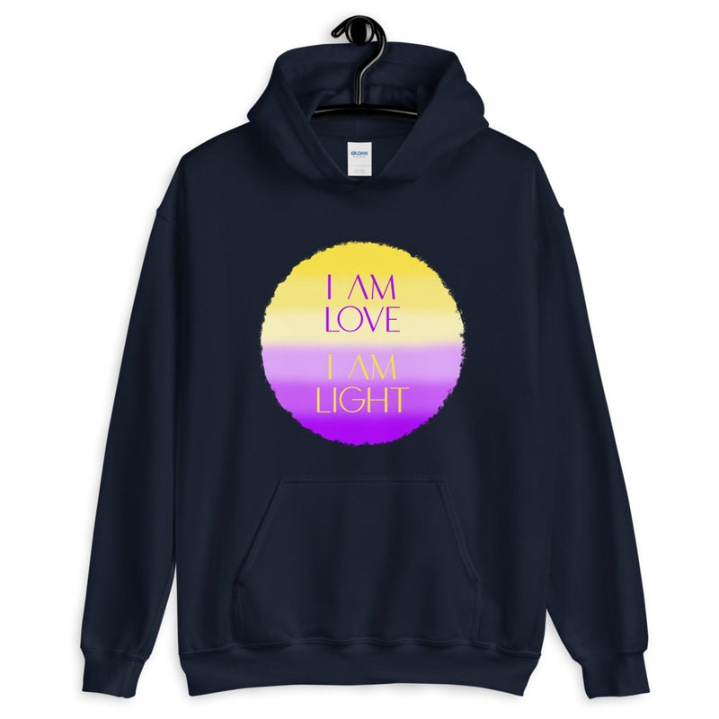 I AM Love I AM Light - Women's Hoodie - StarSeed Gear