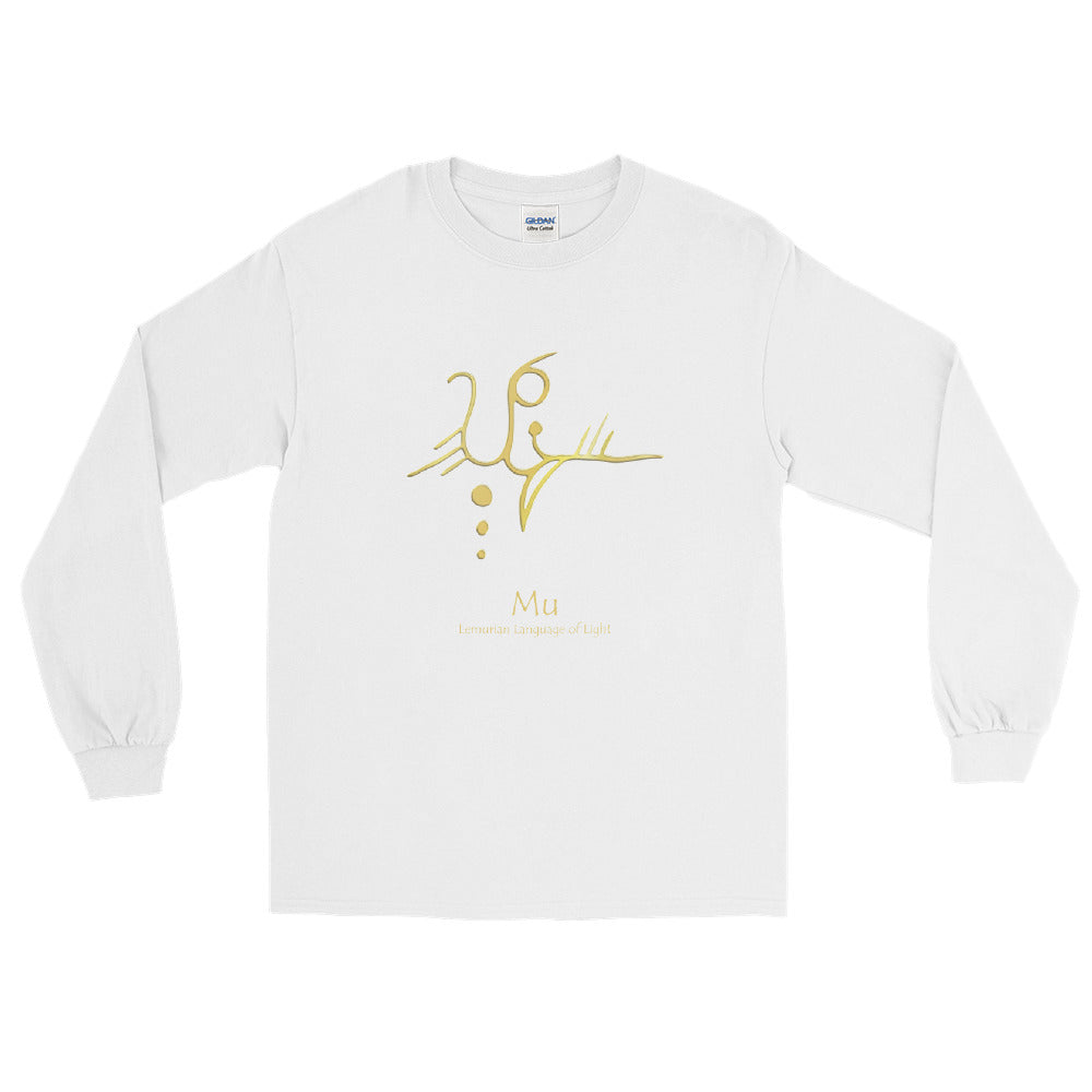Lemurian Light Language Mu - Long Sleeve Tee - StarSeed Gear