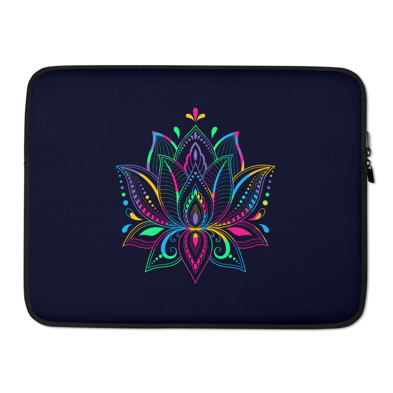 Colorful Lotus - Laptop Sleeve - StarSeed Gear