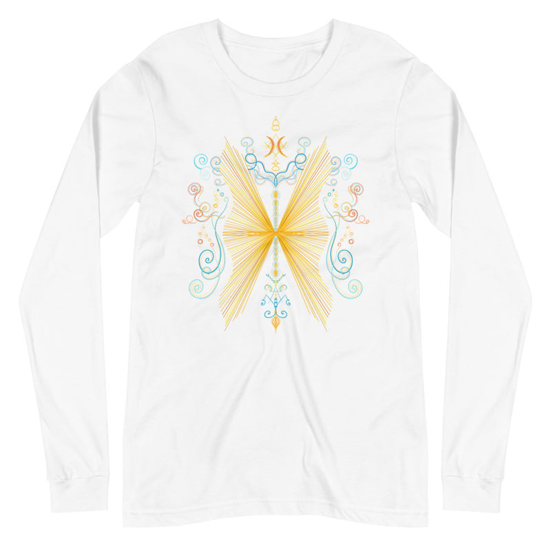 Butterfly Effect - Women's Soft Long Sleeve Tee - StarSeed Gear