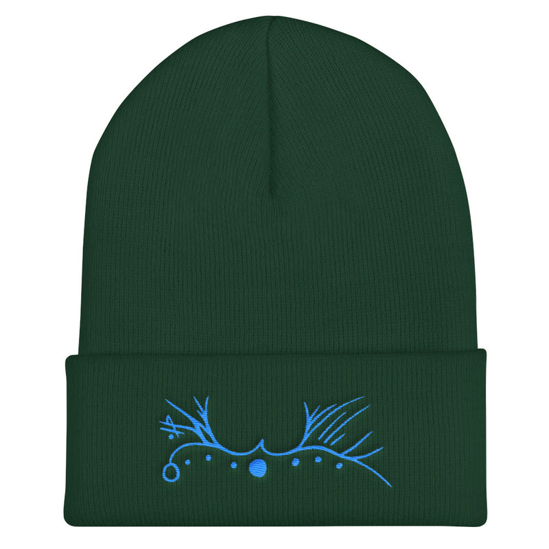 Lemurian Light Language Love Aqua - Beanie - StarSeed Gear