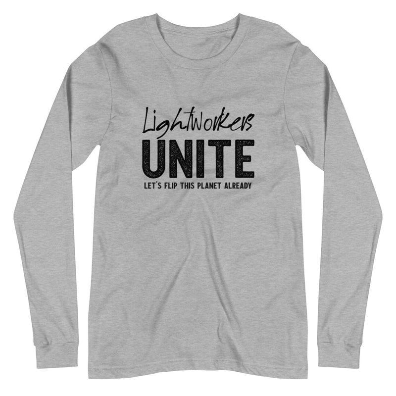 Lightworkers Unite - Women's Long Sleeve Tee - StarSeed Gear