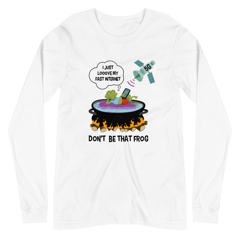 Don't Be That Frog - Women's Soft Long Sleeve Tee - StarSeed Gear