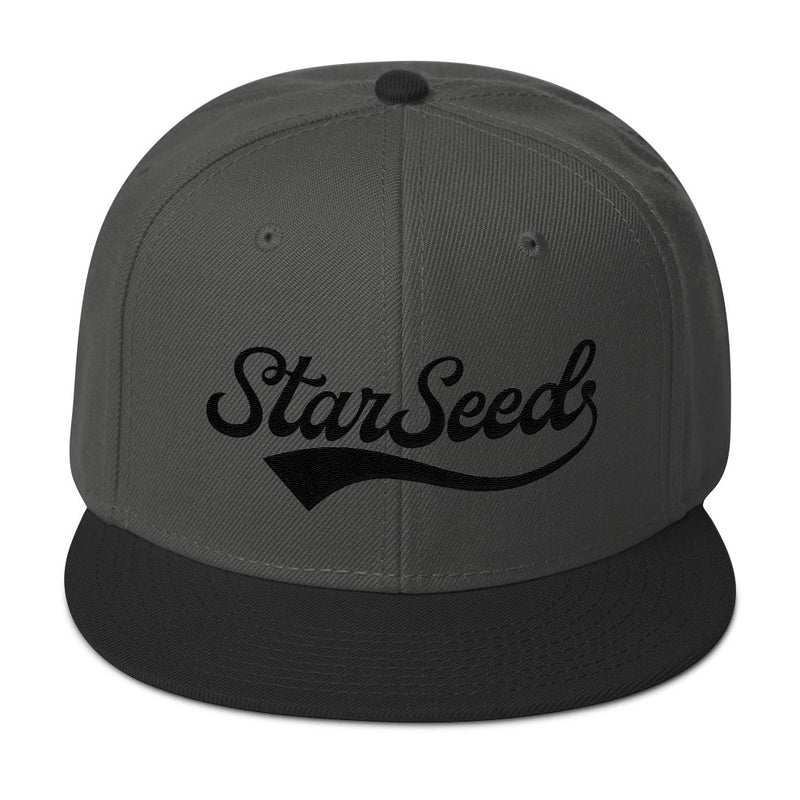 StarSeed Vintage Black - Snapback Hat - StarSeed Gear