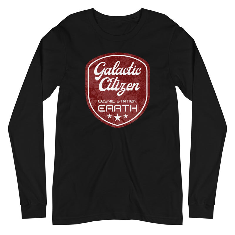 Galactic Citizen - Women's Soft Long Sleeve Tee - StarSeed Gear