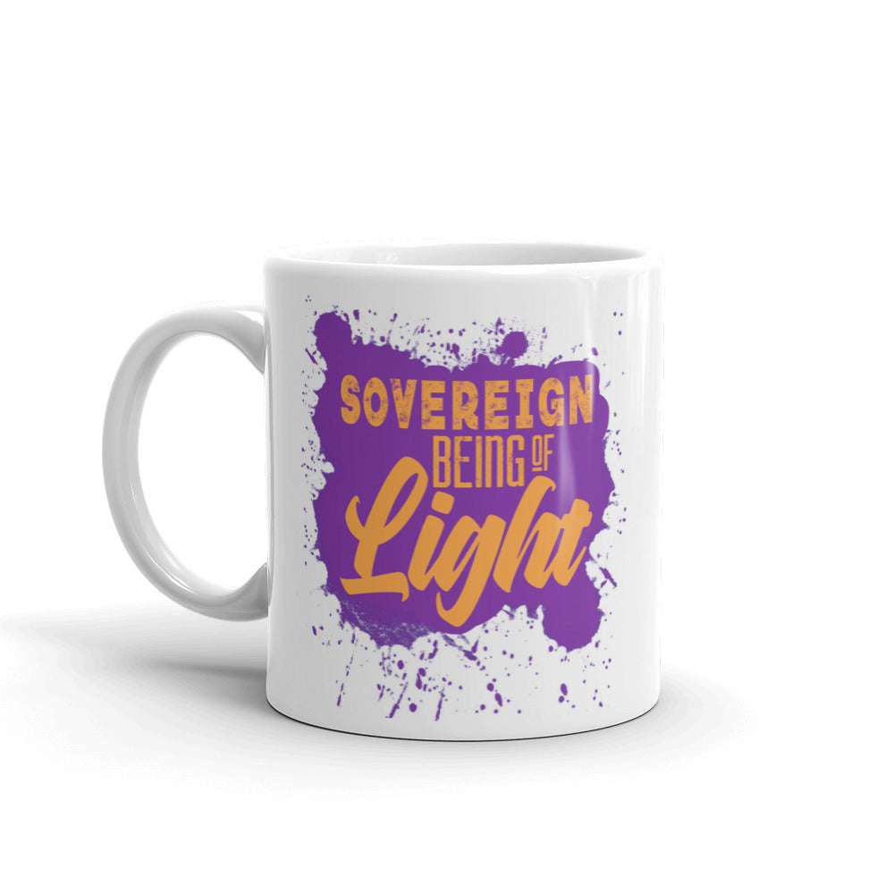 Sovereign Being Of Light - Mug - StarSeed Gear