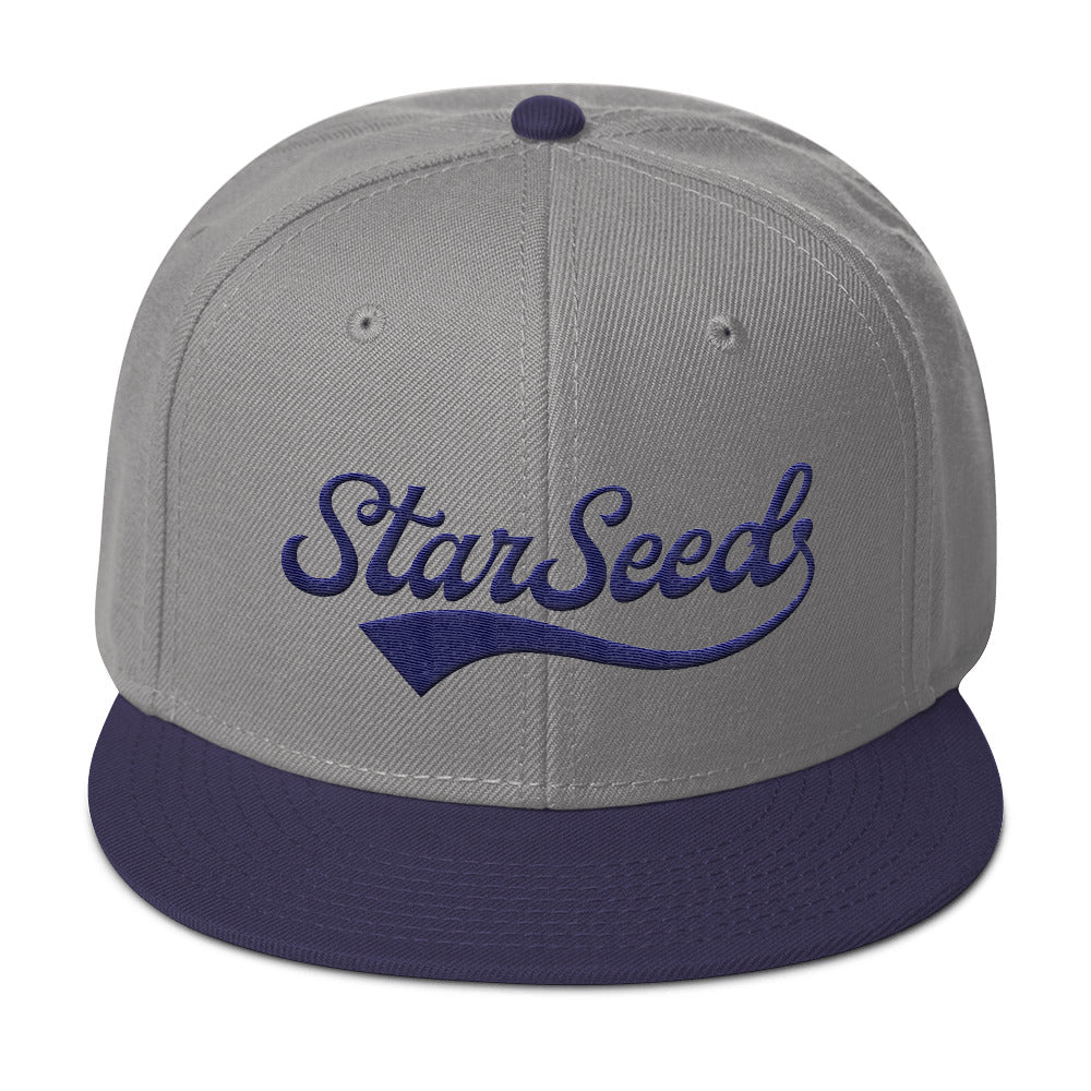 StarSeed Vintage Navy - Snapback Hat - StarSeed Gear