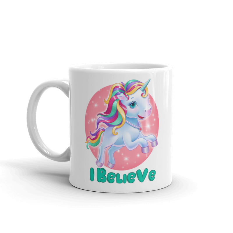 Unicorns I Believe - Mug - StarSeed Gear