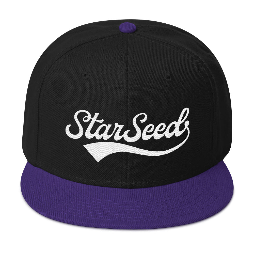 StarSeed Vintage White - Snapback Hat - StarSeed Gear