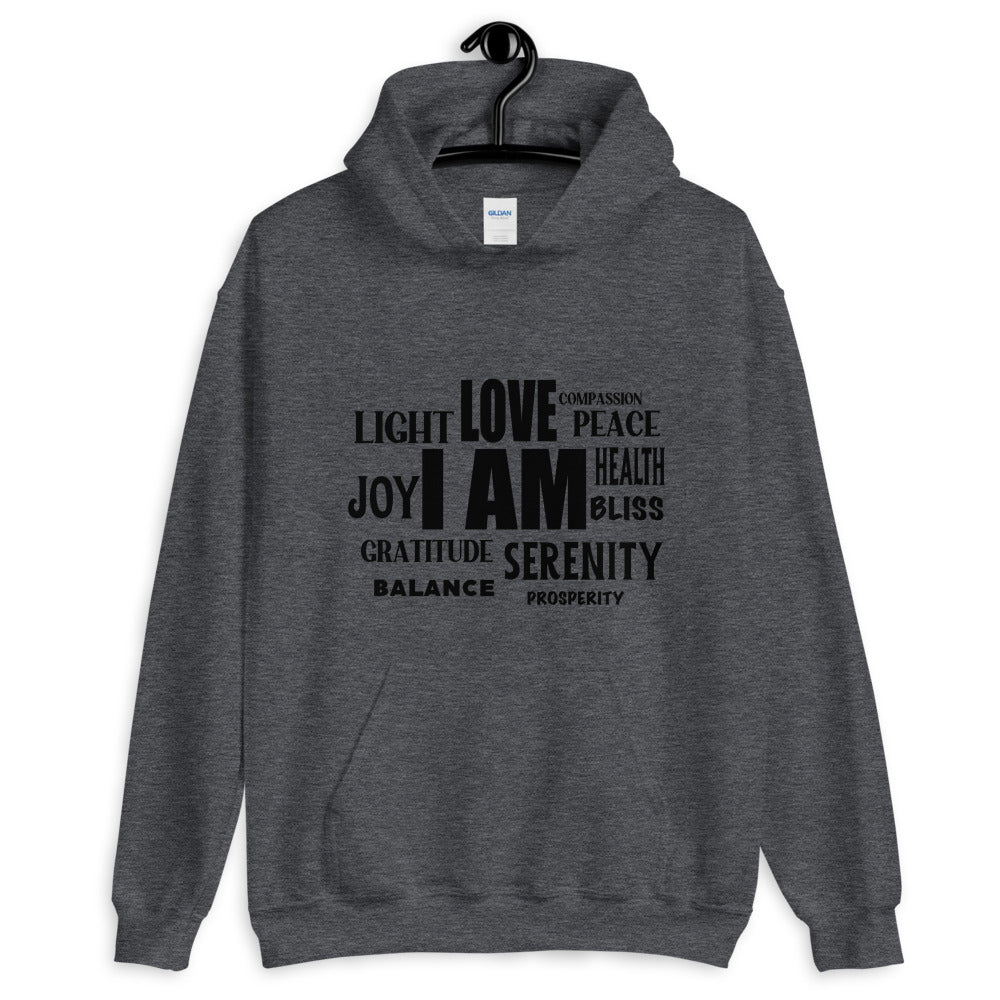 I AM - Men's Hoodie - StarSeed Gear