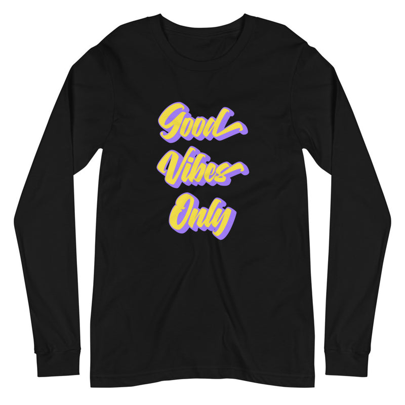 Good Vibes Only - Women's Soft Long Sleeve Tee - StarSeed Gear